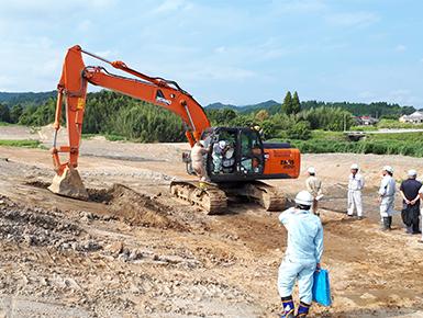 ICT建設機械による施工